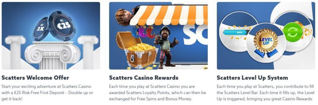 scatters tarjoukset